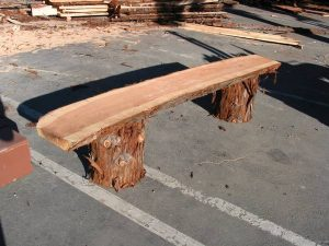 Redwood Natural Edge Slabs for Sale - Santa Cruz