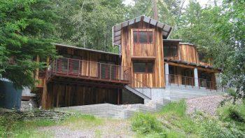 Santa Cruz New Rustic House Siding